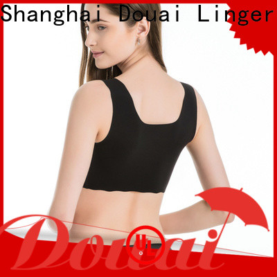Douai natural sports bra for gym factory price for yoga