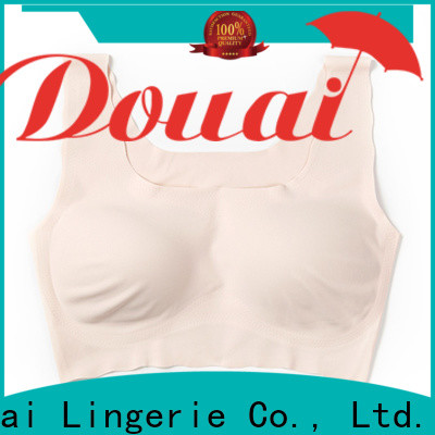 Douai detachable ladies bra tops factory price for bedroom