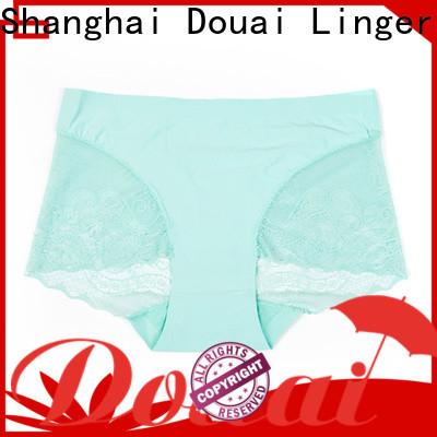 Douai beautiful sexy lace panties at discount for madam