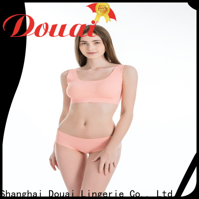 elastic womens gym bra supplier for sking