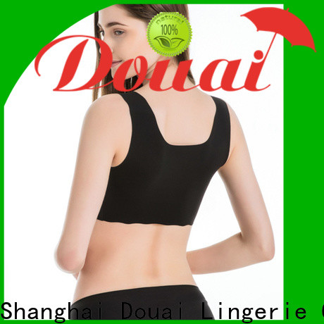 Douai low impact sports bra factory price for hiking