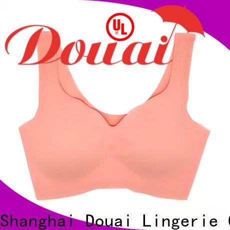 Douai light low impact sports bra factory price for yoga