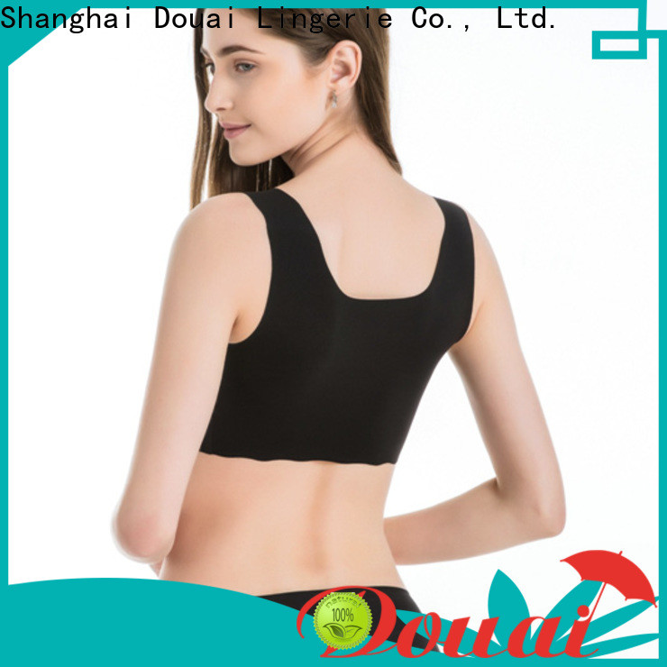 elastic best affordable sports bras factory price for sking