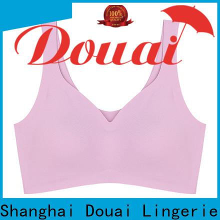 Douai light cotton yoga bra wholesale for hiking