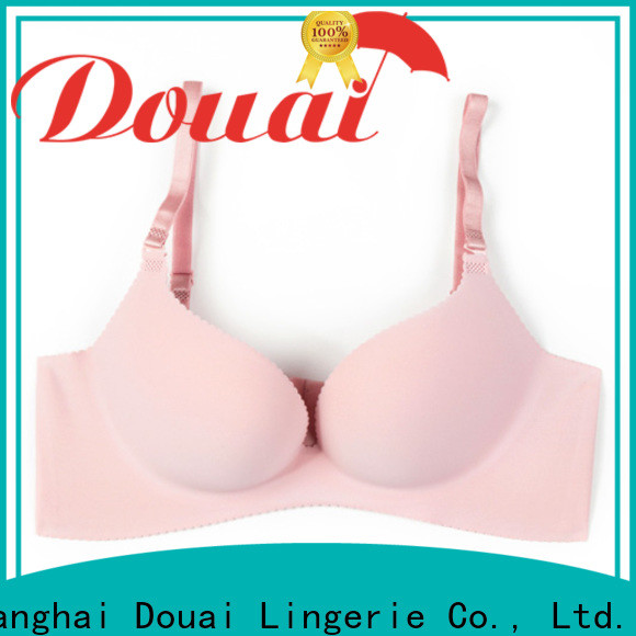 Douai breathable best support bra customized for madam