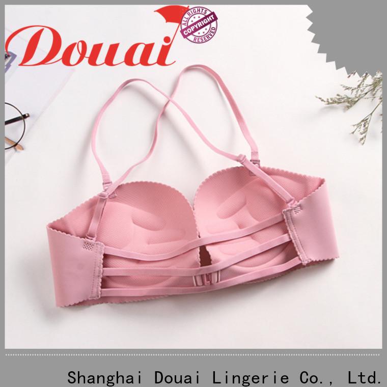 Douai cotton front button bra design for women