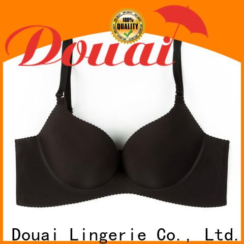Douai seamless bra and panties factory price for home