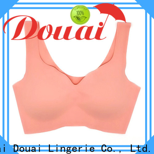 Douai natural best women's sports bra wholesale for hiking