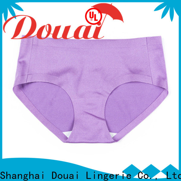 Douai natural best seamless underwear wholesale for girl