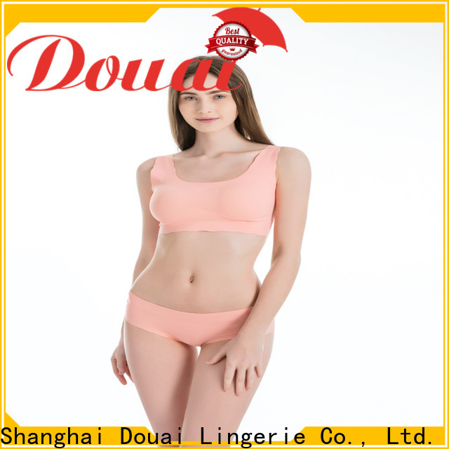 Douai womens gym bra factory price for yoga