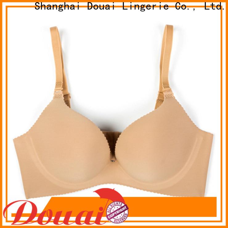 durable cotton seamless bra design for ladies