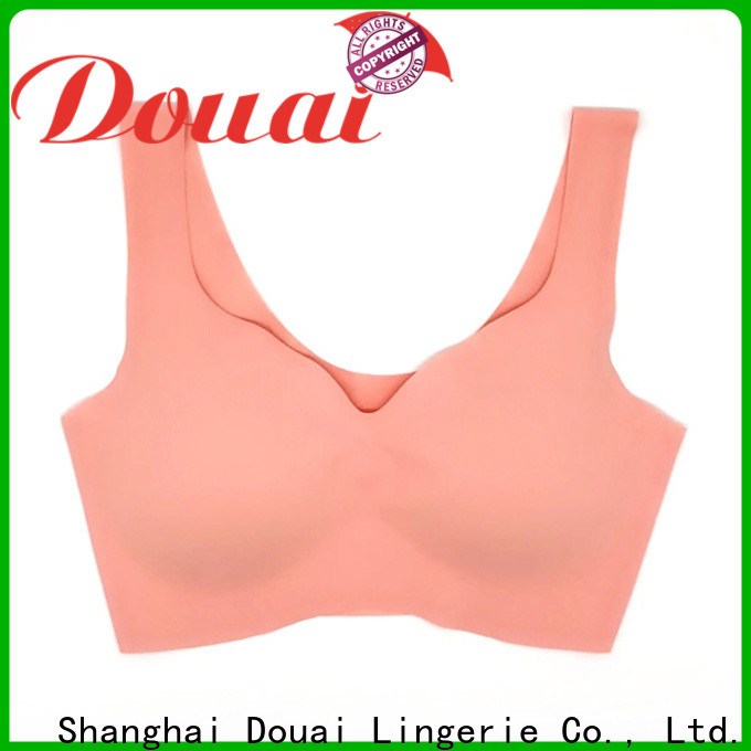 Douai elastic hot yoga bra supplier for yoga