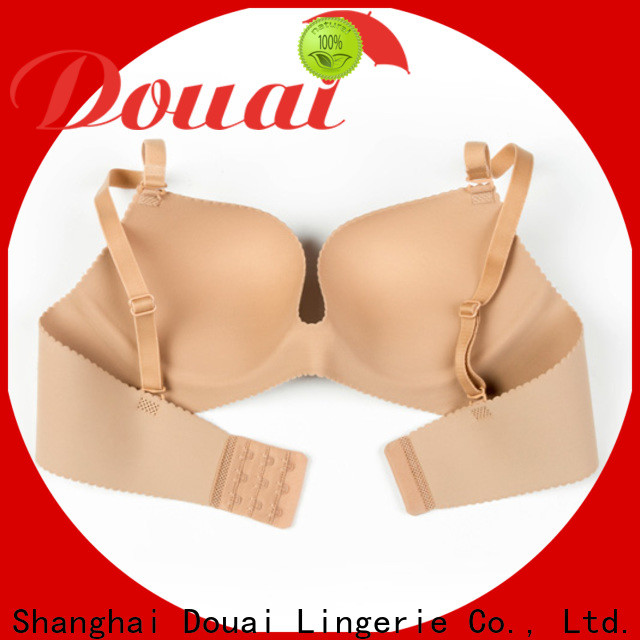 Douai attractive best seamless push up bra wholesale for women