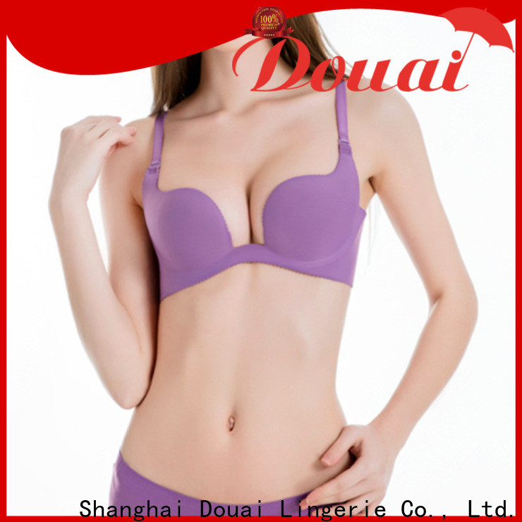 Douai elagant u shape bra customized for dress