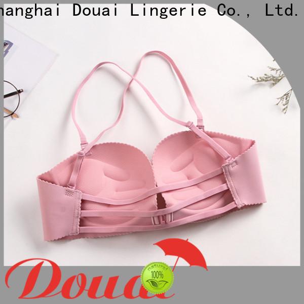 Douai fashionable front clasp bralette design for ladies