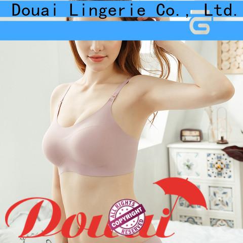 Douai seamless wireless bra factory price for bedroom
