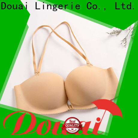 Douai front hook bras design for girl