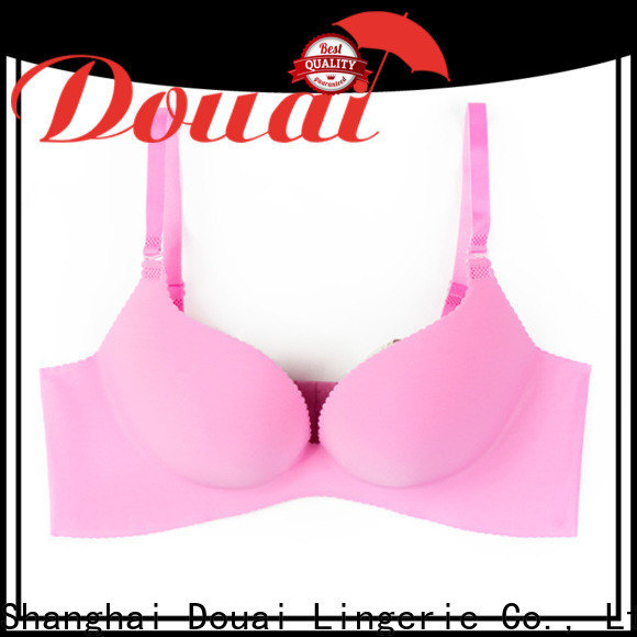 Douai fancy perfect coverage bra customized for girl