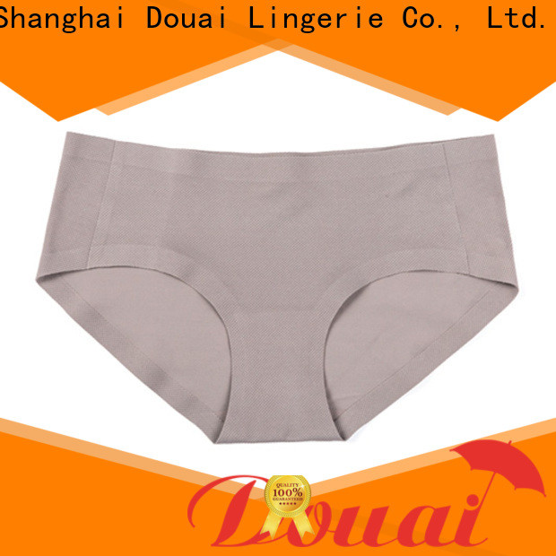 natural best seamless underwear factory price for women