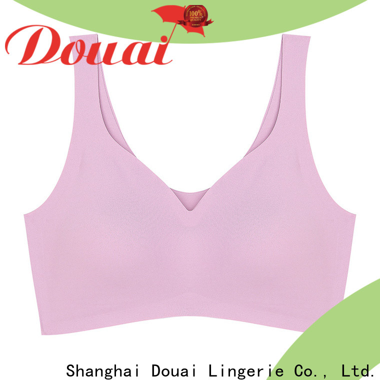 Douai natural sports bra for gym wholesale for sport