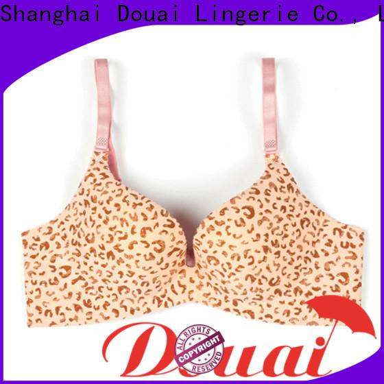 Douai light full coverage push up bra promotion for girl