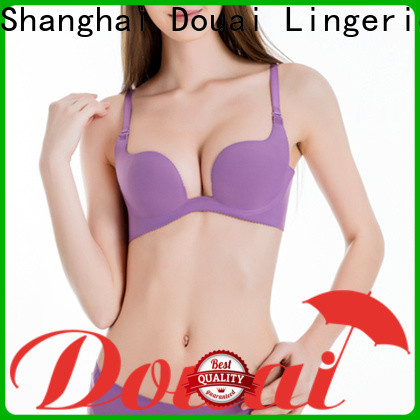Douai hot selling deep u bra directly sale for party