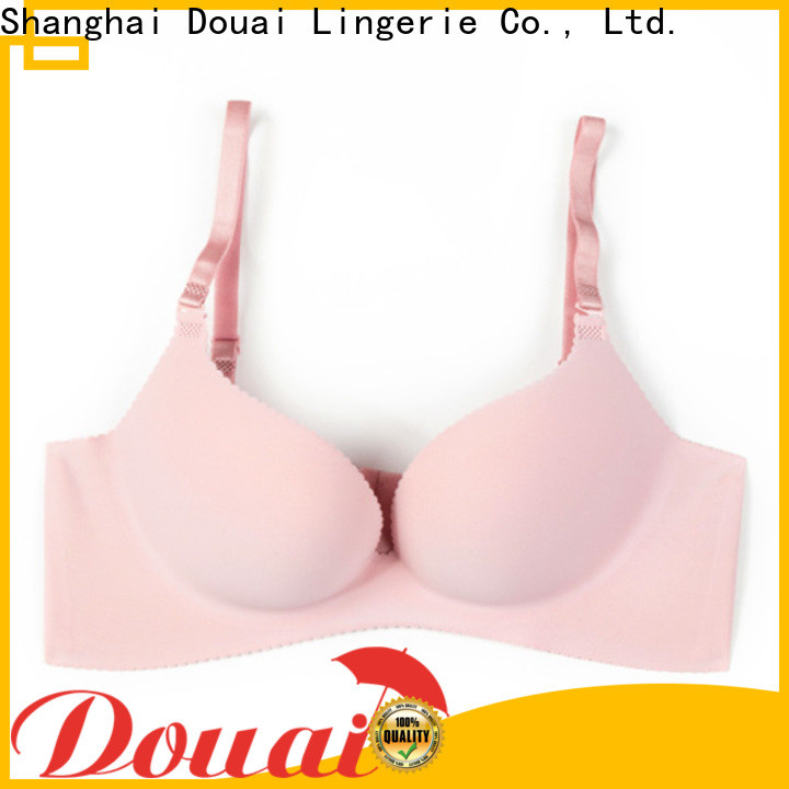 Douai fancy push up bra set directly sale for women