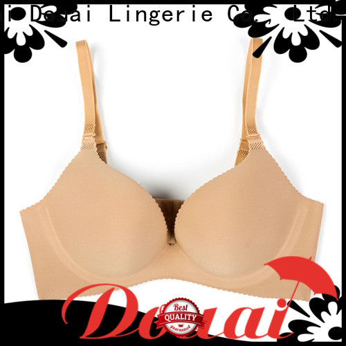 Douai attractive seamless cup bra design for ladies
