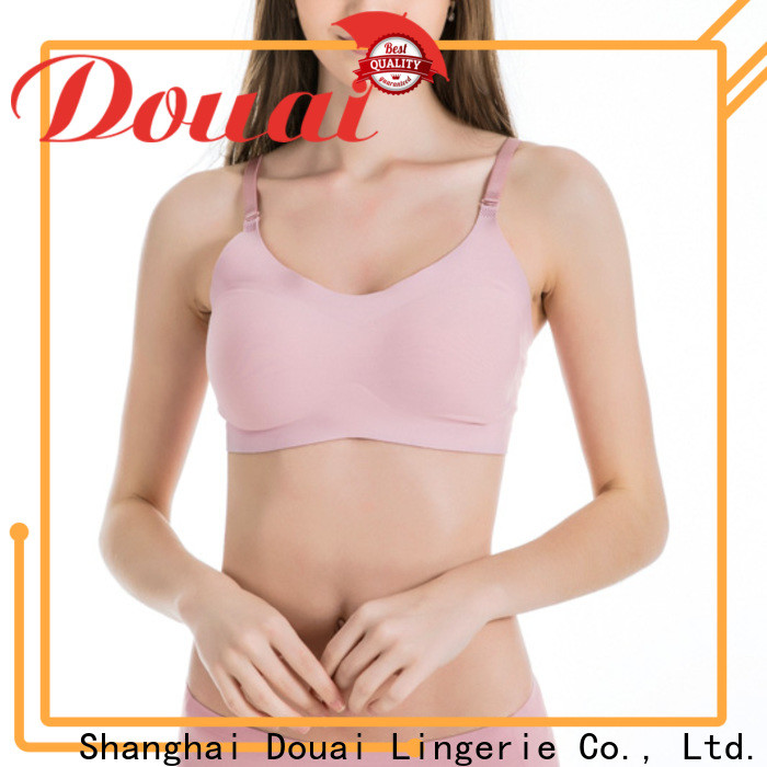 Douai detachable crop top bra wholesale for bedroom