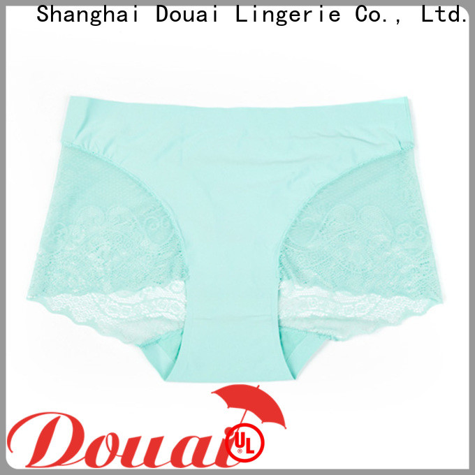 Douai beautiful lace back panties at discount for madam