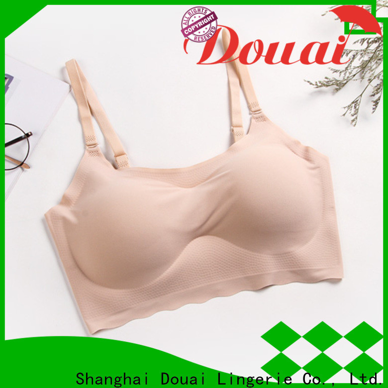 Douai detachable best seamless bra factory price for hotel