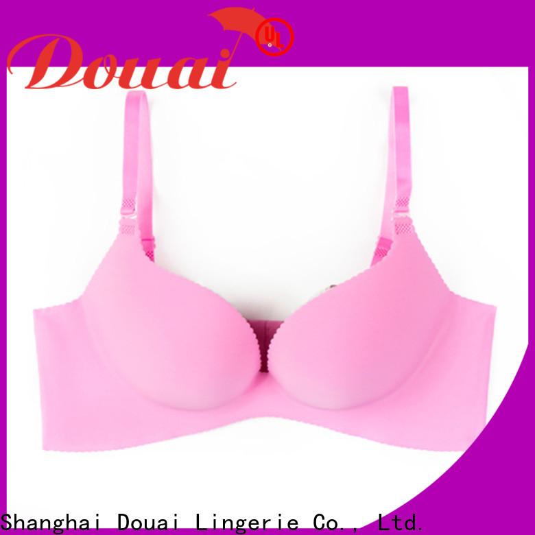 Douai fancy 3 cup bra wholesale for girl