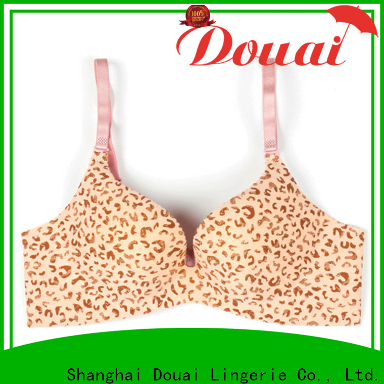comfortable full coverage push up bra faactory price for madam