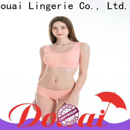 Douai natural yoga bra personalized for sking