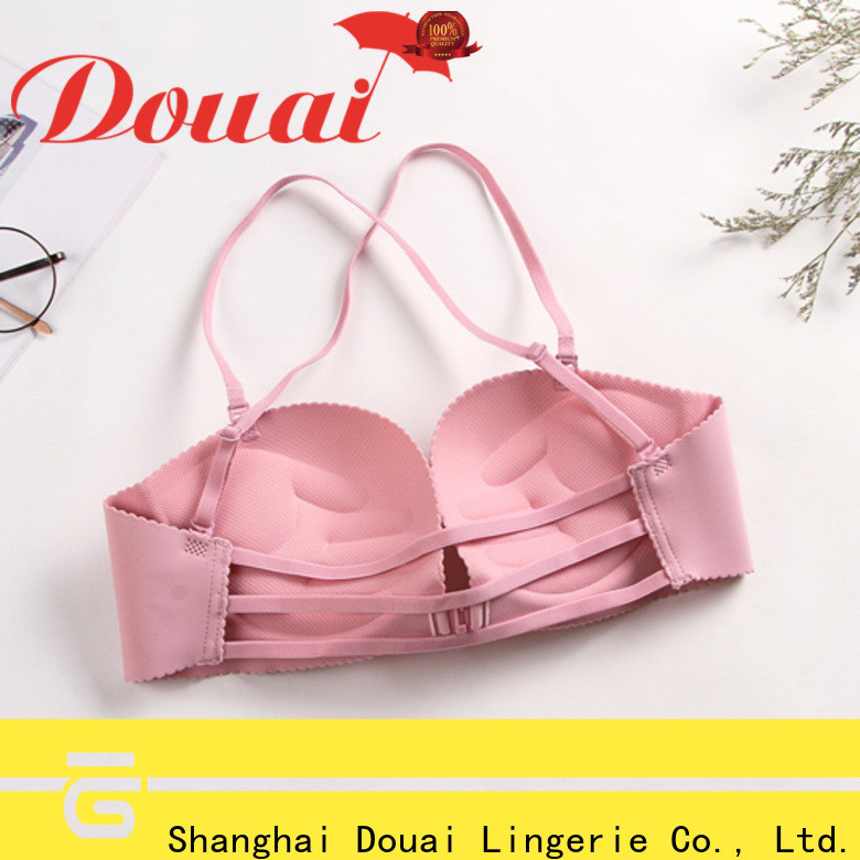 convenient front button bra wholesale for girl
