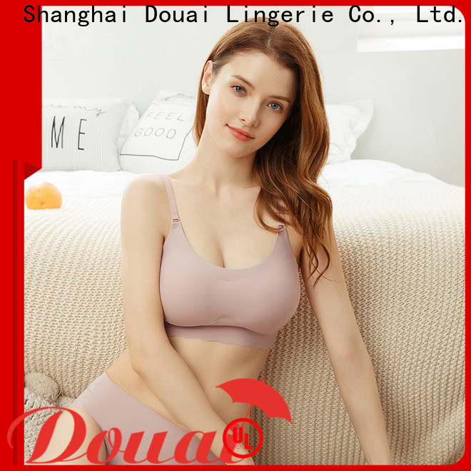 Douai seamless padded bra top manufacturer for home