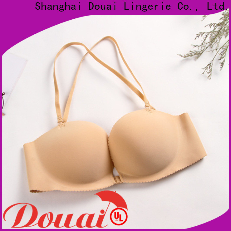 convenient front closure padded bras supplier for ladies