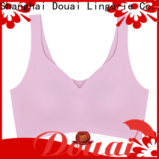 Douai soft best sports bra wholesale for sking