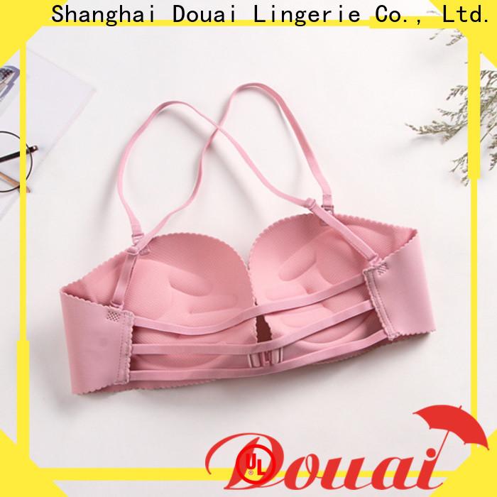 Douai front lock bra wholesale for girl