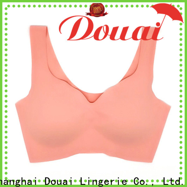 Douai natural cotton yoga bra wholesale for yoga