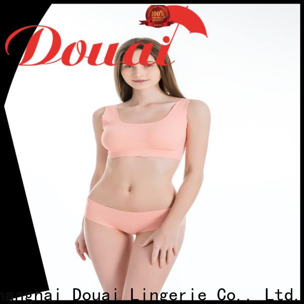 Douai thin yoga sports bra personalized for sking