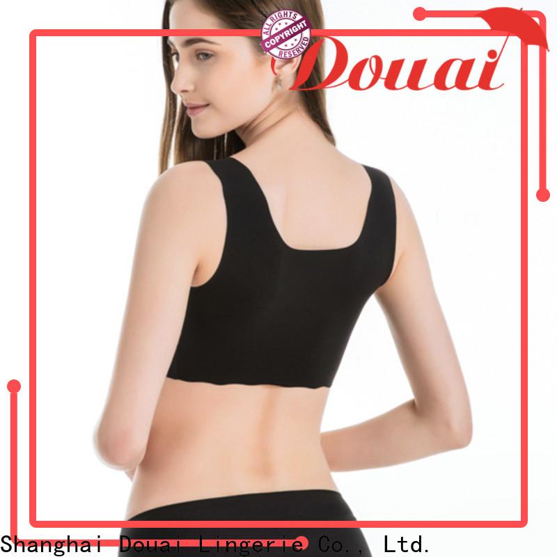 Douai thin most comfortable sports bra wholesale for yoga