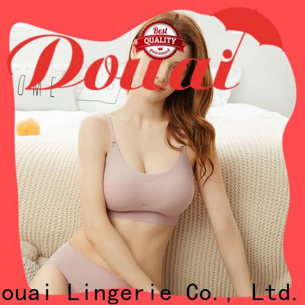Douai crop top bra factory price for home