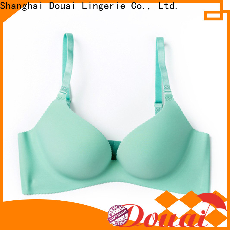 Douai simple seamless padded bra on sale for madam