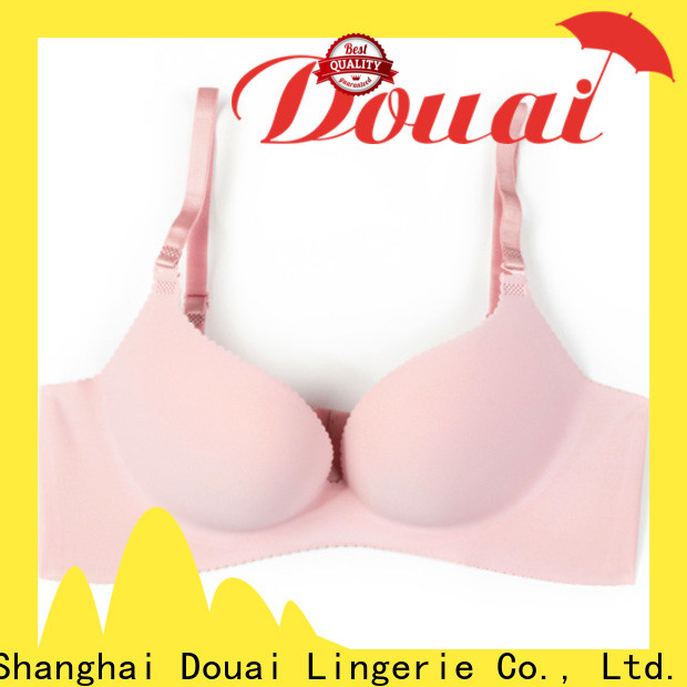 Douai comfortable ladies push up bra wholesale for girl
