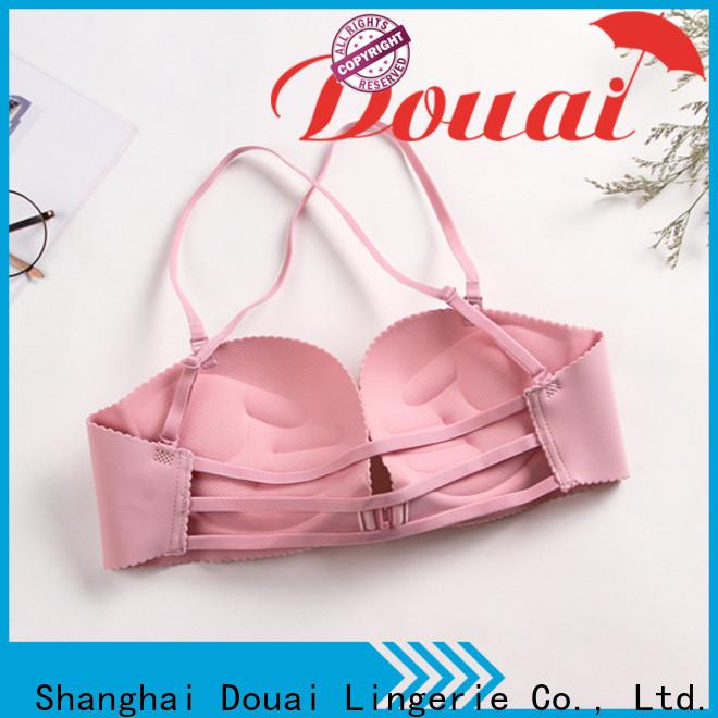 Douai fancy front closure comfort bra wholesale for women