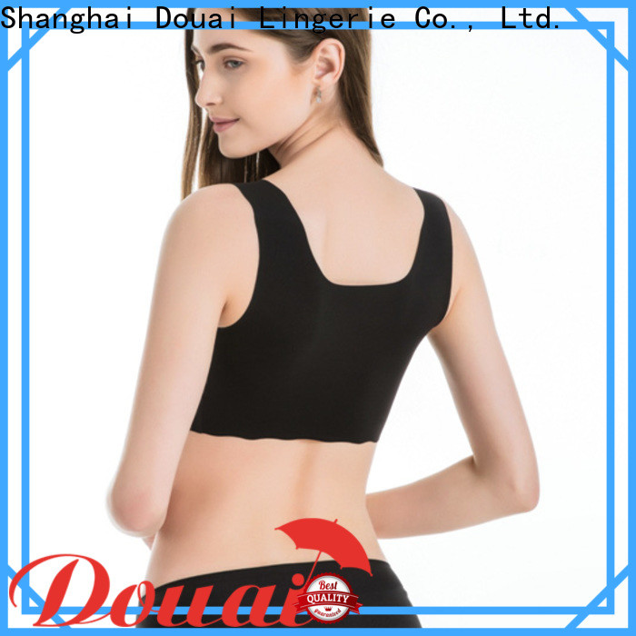 elastic most comfortable sports bra wholesale for sking