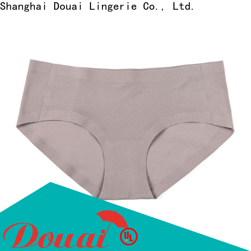 Douai comfortable seamless underwear directly sale for lady