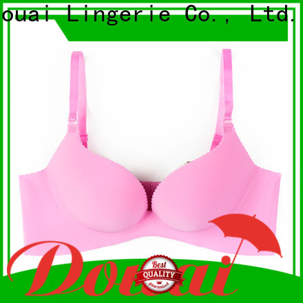 Douai comfortable the best push up bra customized for madam