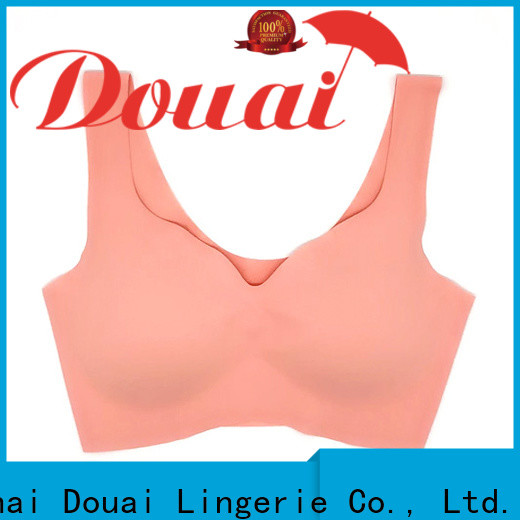 Douai high support sports bra factory price for hiking